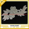 bridal sash applique wedding dress rhinestone appliques
