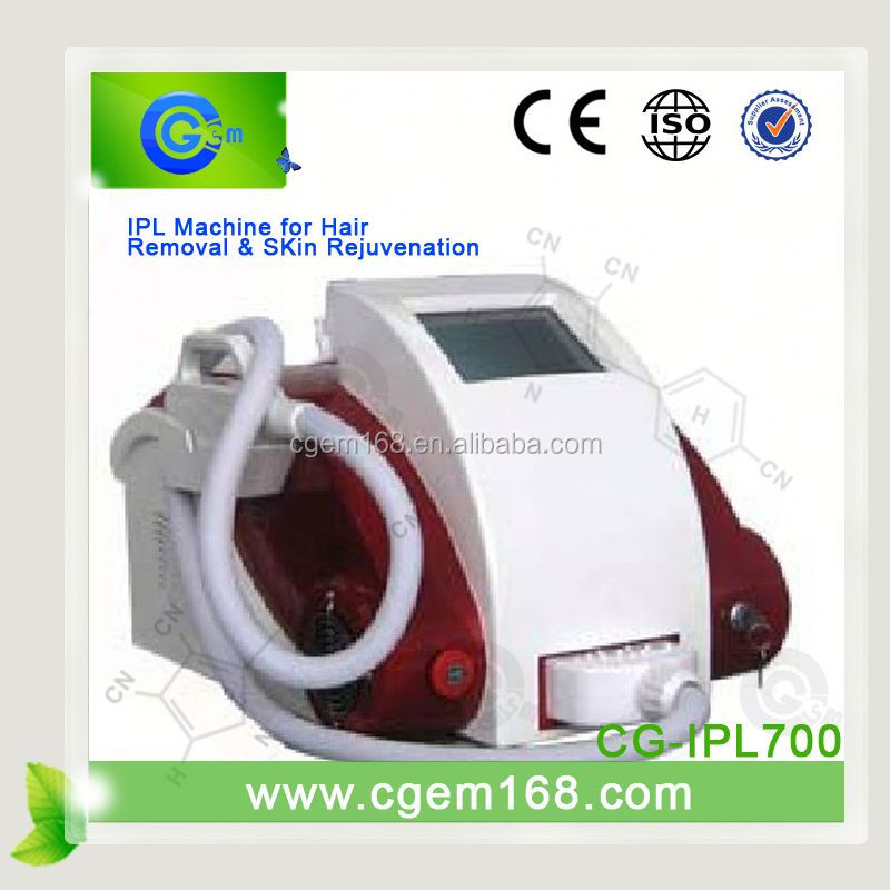 CG-IPL700 New Promotion hair removal portable ipl for face lift effect lasting
