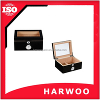 Cigarette box with tray ,wood humidor