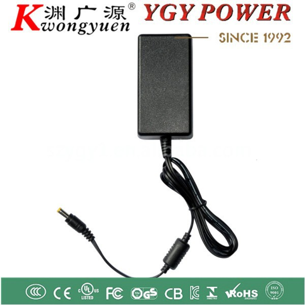 12V3A Adaptor with CE UL CSA GS CB KC PSE S-MARK Desktop Power adapter