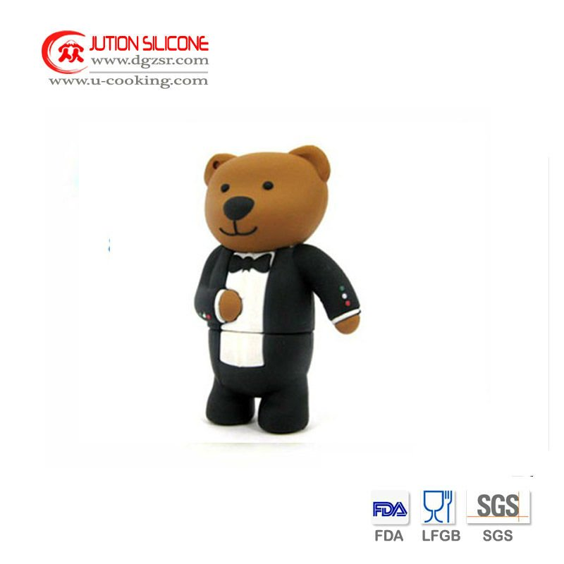 Lovely Style Custom Design Silicone USB Supplier