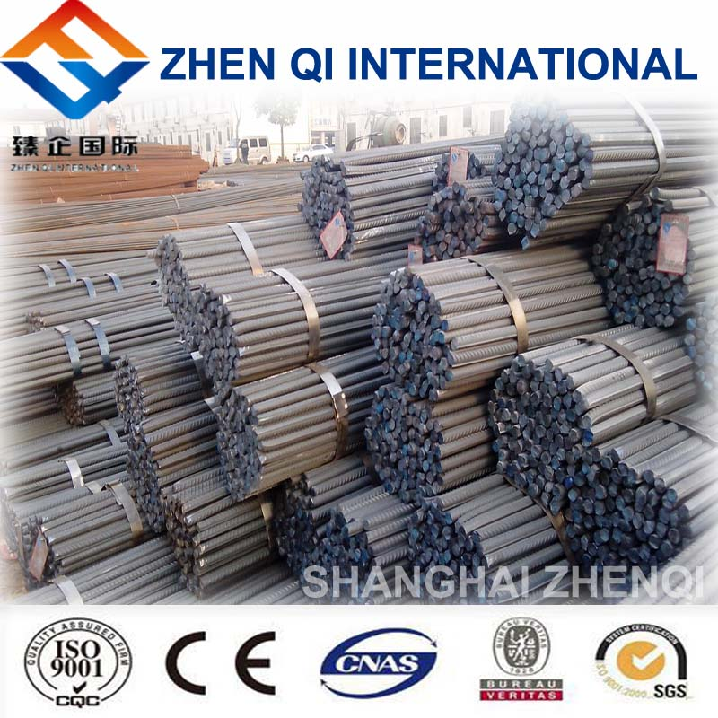 Deformed steel bars hs code steel rebar with 8 mm