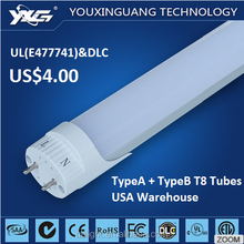 Wholesale LED Products for Export 18w 1200mm japan tube hot jizz led tube light t8 18w TypeA+TypeB North American Market Tubes