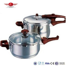 2 Sets Stainless steel commercial pressure cooker