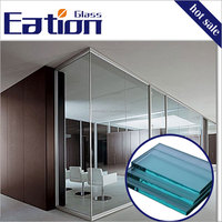 Safe Soundproof Tempered Glass Wall Glass for Office