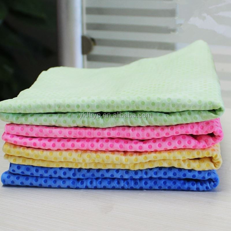 Multifunctional super absorbent fast drying PVA Chamois fabirc for car pet hair