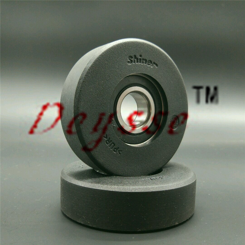 High Performance Rollers 80*22 6204 2RS Black Escalator Step Rollers