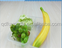 Wholesale high quality biodegradable large cheap plastic blister trays containers
