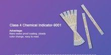 Class 4 Chemical Indicator Color Changing Indicator for Sterilization Steam Autoclave Tape