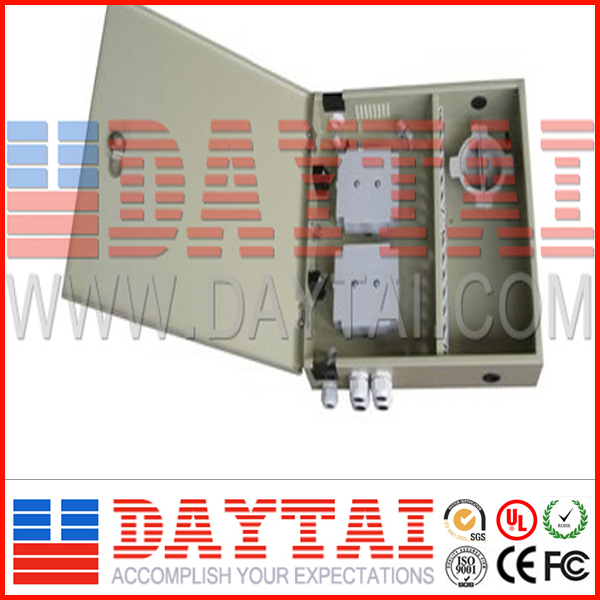High quality With Low Price Steel Plate With Powder Coating 6 Ports Fiber Optic Termination Box