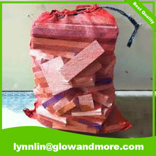 Best wood Bag Wholesale Mesh Firewood Bags