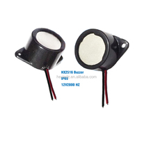 waterproof IP65 IP67 piezo buzzer for EV car, Ebike ,RC boat and so on.