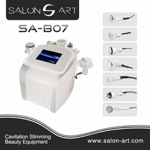 salon equipment centre ultrasonic cavitation fat reduction/cavitation damage