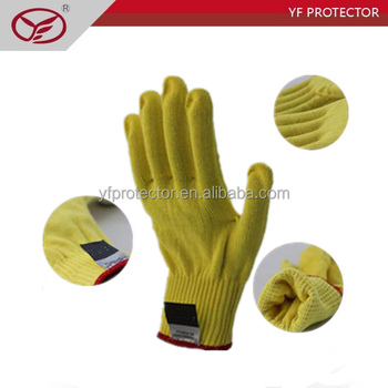 kevlar anti-stab gloves/anti cutting gloves with kevlar material