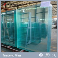 12mm tempered glass large glass sheets