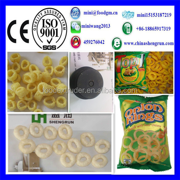 automatic pellet pallet snack food process equipment