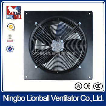 With 35 years experience air ventilation system industrial ventilation fan UL approval AC axial fan with external rotor motor