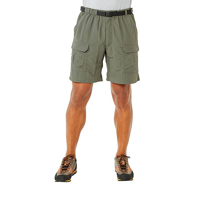 New arrival nylon cargo men short pants with waistband design climbing wear