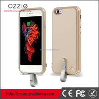 TPU+PC power case 2000mAh power bank battery charger case for iphone