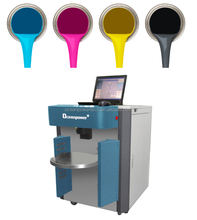 Paint manufacturing equipment / color mixing machine / colorant dispenser with colorful coating