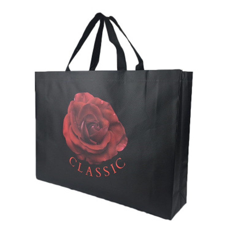Recyclable Biodegradable Non Woven Fabric Bag With Custom Logo