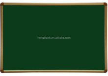 HB-B2 low price with high quality magnetic writing green board chalk board for teaching / bulletin board /message board