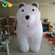 Fast Delivery Custom Outdoor Yard Decoration Christmas Inflatable Polar Bear Inflatable Animal