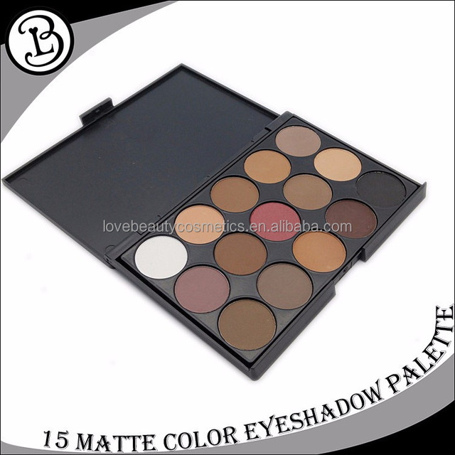 China cosmetics supplier cheap 15 color eyeshadow palette