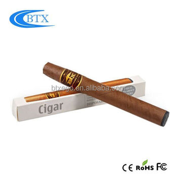 Cheap mini cartomizer e-cigar cuban disposable e cigar 2017 Disposable E-Cigar