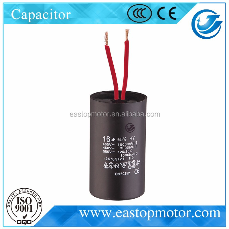CBB60-A 20 kvar capacitor for single phase motor with plastic shell