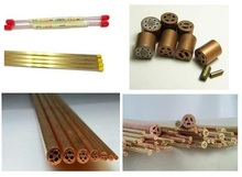 EDM Electrode Brass Tube & EDM Brass Electrode Pipe For EDM Drilling Machine