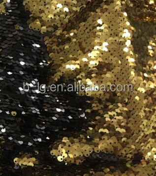 Colorful design fabric Bailange fashionable fine nylon mesh fabric with decorative sequin