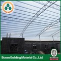 prefabricated steel structure frame shopping mall school building