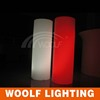 led plastic decorative lighted columns for weddings