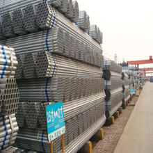 En10255 s195t erw hot dipped galvanized steel pipe round