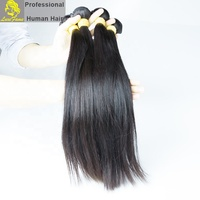 Top Quality remy 10A Grade Wholesale raw virgin brazilian long straight lace frontal black wig human hair extensions