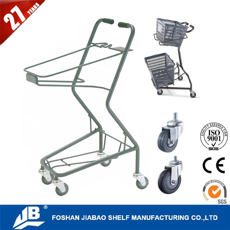 portable shopping trolley for super market MOQ 10 sets