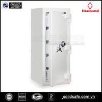 2 hours fire rating safe, fire and burglary safe, safe with tri-spoke handle