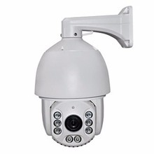 360 degree 120m IR Distance CCTV 8pcs array light AHD 18X 22x 30x 36x high speed dome camera