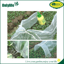 BSCI certification High quality PVC Garden used tunnel greenhouse frames with zipper for sale