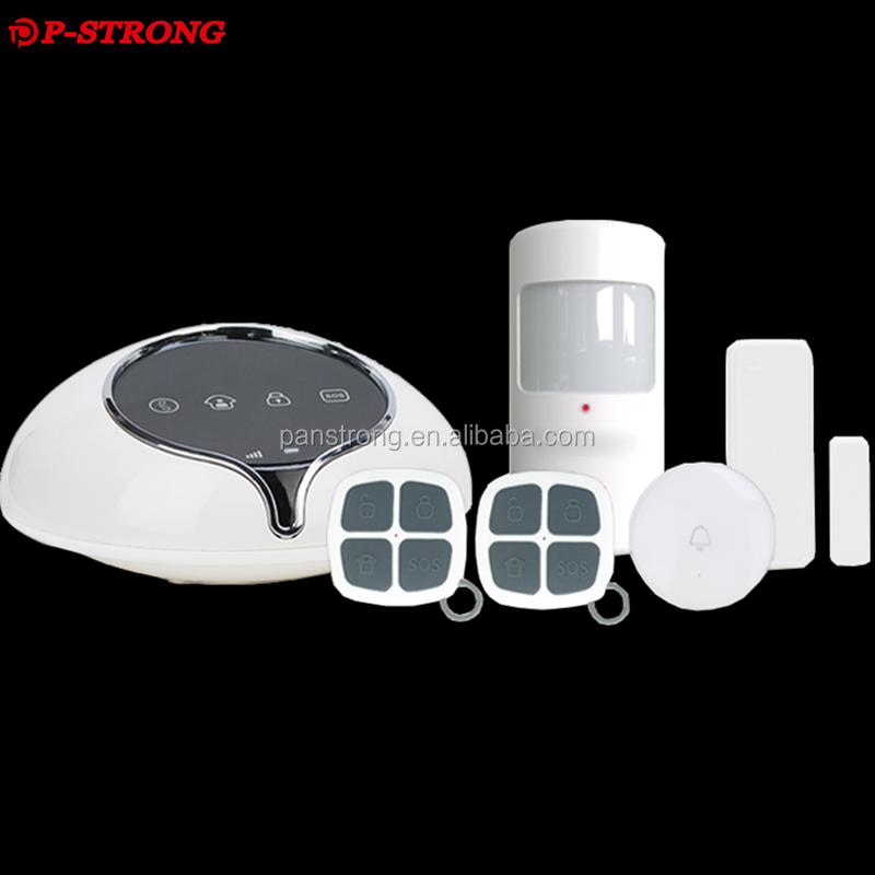 Smart House Wireless 3G WCDMA Alarm System Latest Security Equipment