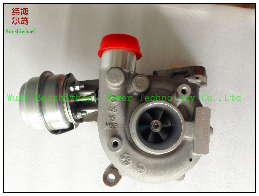 GT1749V turbo 701855-0006 701855-5006S 028145702SX turbocharger for Seat ALHAMBRA TDI with PD UI - TDI 110 Engine