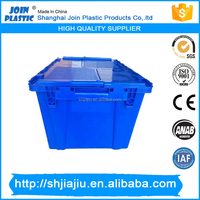 35kgs Storage Plastic Moving Transparent Containers