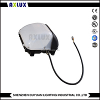 40w 60w 90w 100w led wall pack ip65,DLC ETL listed wall pack led lighting with 80-265V MeanWell driver