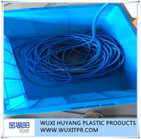 [Gold Huyang]Good Quality Blue TPE Extruded Tube