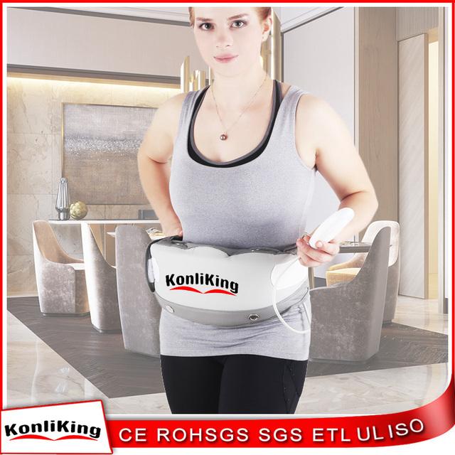 2017 New bestwaist slimming belts electronic fat reducing massage belt
