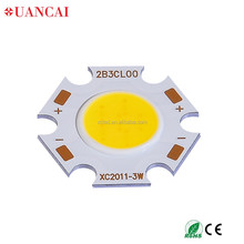 Round high power COB LED 3W with Epistar Chip