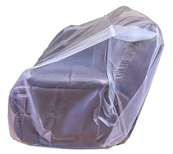 "Furniture sofa couch storage protector plastic covers during moving 152"" x 45"""