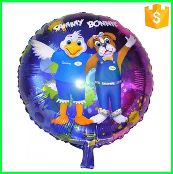 18 inches customized Balloons Print
