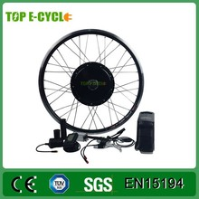 TOP/OEM CE 48V 1000W Electric Bike Kit with battery In China Wholesale CR-1000DF electric bike conversion kit